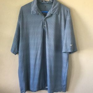 Men's Nike Golf Patterned Polo. Size XXL.